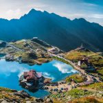 Transfagarasan Balea lake - Balea Lake, is a glacier lake situated at 2,034 m of altitude in the Fgra Mountains, in central Romania, in Crioara, Sibiu County - 14 frame