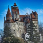 70302347 - the medieval castle of bran, known for the myth of dracula.